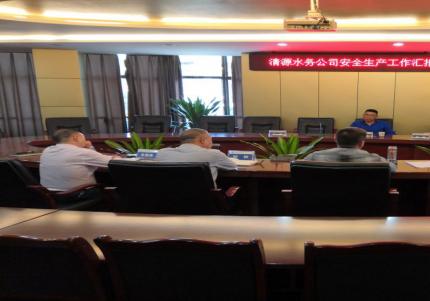 市国资委副主任罗景元带队督查 集团公司安全生产