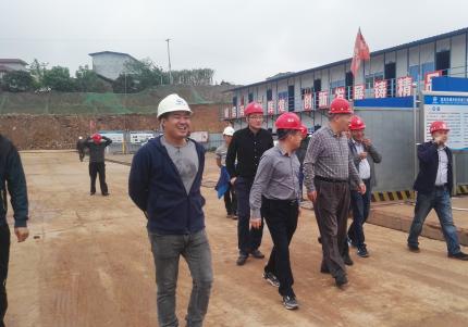 深圳水务集团到菜坝水厂、四水厂参观学习