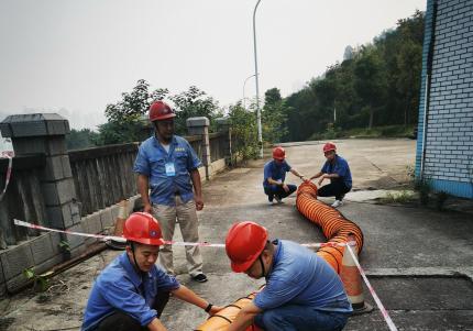 加强安全演练  预防事故发生