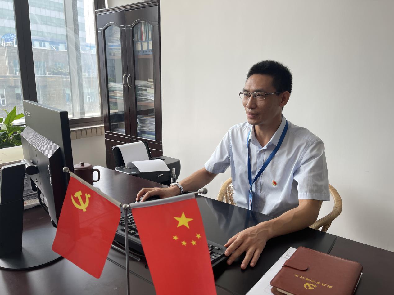 2021年市国资委表彰优秀共产党员——吴建刚
