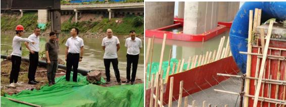清源水务集团开展震后安全检查  保障供水稳定